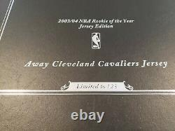 Lebron James Autographié Loin Cavalier Jersey Upper Deck Assermentée Uda Coa