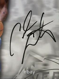 Lebron James Carmelo Anthony Dual Signé Uda High Deck 16x20 Coa Auto # 59/100