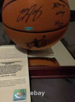 Lebron James Cleveland Cavaliers Autographié Inscrit 04 Roy Basketball Uda