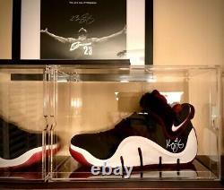 Lebron James Upper Deck Uda A Signé Des Chaussures Avec King James Personnalisation Automobile