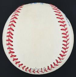 Magnifique Mickey Mantle No. 7 Signé Oal Baseball Upper Deck Coa