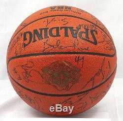 Michael Jordan 1996 All Star Game Signé Basketball 31 Sigs Uda Et Jsa Coa Rare