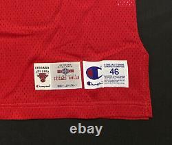 Michael Jordan A Signé 1995-96 Champion Pro Cut Jersey Uda Coa Beckett Loa
