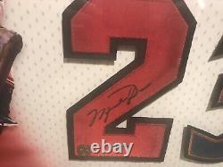 Michael Jordan A Signé Autograph Jersey Numéro Bulls Wizards 23 Uda Upper Deck