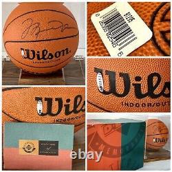 Michael Jordan A Signé Autographe Basketball Upper Deck Authentifié Uda