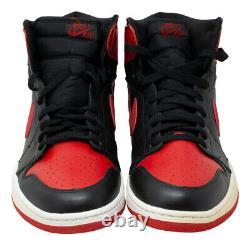 Michael Jordan A Signé Chicago Bulls Nike Air Jordan 1 Retros Shoe Uda