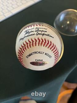 Michael Jordan A Signé Major League Baseball Upper Deck Uda Auc39044