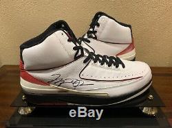 Michael Jordan Air Jordan Autographié Signé Chaussures Taille 13 Uda