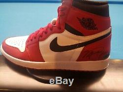 Michael Jordan Air Jordan Retro 1 Uda Signé Chaussures Taille 13! Chaud Chaud