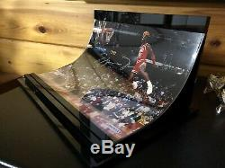 Michael Jordan Anneaux Championnat Autographié Upper Deck Display Uda