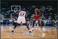 Michael Jordan Auto Autographe Uda 24 X 16 Photo / 123 Driven De L'intérieur