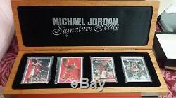 Michael Jordan Autograph Auto Signature Series Carte Exquise Mj Set Uda 97/1000