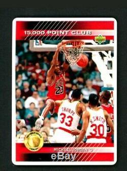 Michael Jordan Autographed Signature Series Carte Porcelaine Set Uda # Bae65127