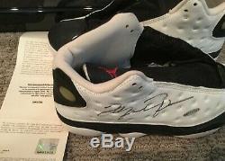 Michael Jordan Autographed Uda Shoe Ball Jersey Grande Opportunité