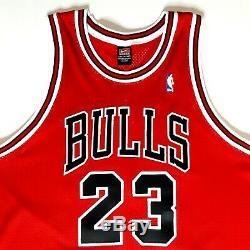 Michael Jordan Autographed Upper Deck Nike Chicago Bulls 1997-1998 Uda # 23 Jersey