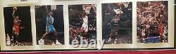 Michael Jordan Autographié Hardwood Floor 1987 À 1994 Chicago Bulls. Uda