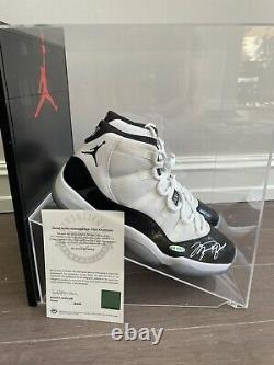 Michael Jordan Autographié Jordan 11s Size13 Uda Authentifié Upperdeck Signé