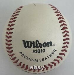 Michael Jordan Autographié Ligue Majeure Baseball Uda