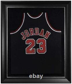 Michael Jordan Autographied Bulls 2009 Hof Authentic Black Jersey Uda Le 123