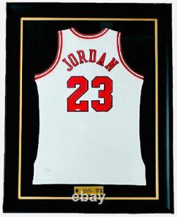 Michael Jordan Autographied Bulls Retraite Night 11/1/94 Jersey Uda Le 4/111