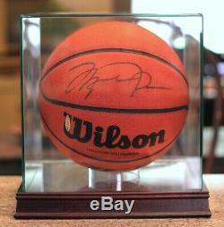 Michael Jordan Basketball Signé Autograph Upper Deck Assermentée Uda