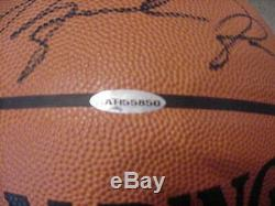 Michael Jordan Basketball Signé Spalding Uda Upper Deck Coa
