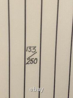 Michael Jordan Birmingham Barons High Deck Uda Autographié Auto Baseball Jersey