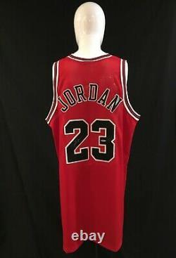 Michael Jordan Chicago Bulls 1997 Pro-cut Autographié Jersey Uda