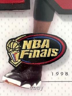 Michael Jordan Chicago Bulls 1998 Finales Signées Auto Jersey Numéros Uda Framed