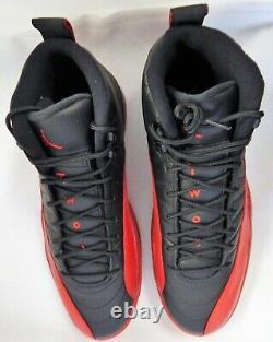 Michael Jordan Chicago Bulls Signé Air Jordan 12's Flu Game Shoes Uda Authentic