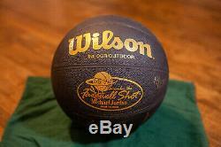 Michael Jordan Farewell Tir Signe Basketball Uda 18/230