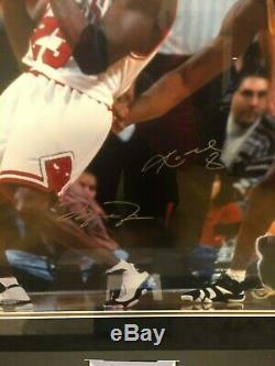 Michael Jordan Kobe Bryant Uda Upper Deck Signés (3) 16x20 Le Photos Encadré 1/1