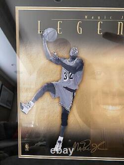 Michael Jordan, Magic Johnson, Larry Bird Signé Pont Supérieur Uda Le 407/500