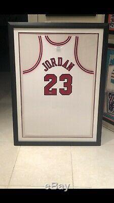 Michael Jordan Nike Autographié Chicago Bulls Accueil Jersey Uda Lire