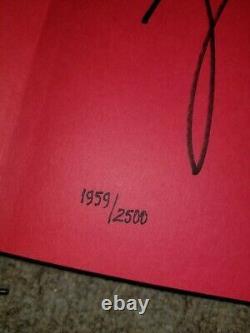 Michael Jordan Rare Air Autographed Book Upper Deck Authentifié Uda Last Dance