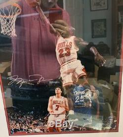 Michael Jordan Signé 16x20 Uda Photo Rare Jumpman # 39/300 Autograph Upper Deck