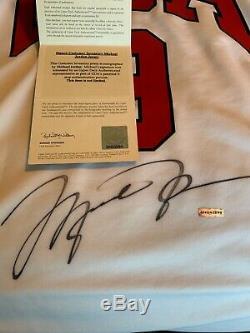 Michael Jordan Signé 1984 Jersey Olympique Etats-unis Avec Short Uda