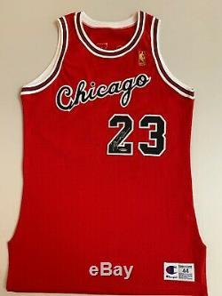Michael Jordan Signé Autographié Rookie Jersey Upper Deck Uda Rare