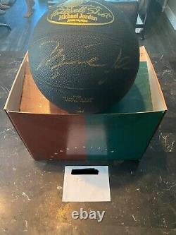 Michael Jordan Signé Basketball Uda Super Rare