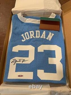 Michael Jordan Signé Caroline Du Nord Jersey Uda