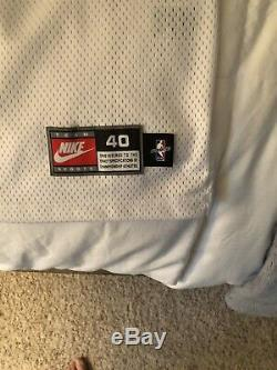 Michael Jordan Signé Uda Autographiés Bulls Nike Jersey