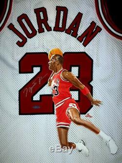 Michael Jordan Signé Uda Jersey Lire La Description! 1/1 100 000 $ Piece