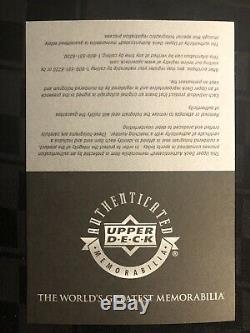 Michael Jordan Signe Uda Souvenirs Encadré 33x30 1988 Smasher Auto Vainqueurs
