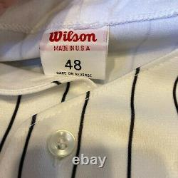 Michael Jordan Signed Birmingham Barons White Sox Jersey Uda Upper Deck Coa