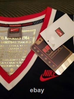 Michael Jordan Signed/autographed USA 1984 Olympic Jersey Upper Deck Coa Uda