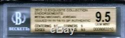 Michael Jordan Ud Exquis Bgs 9,510 Autograph D # 84/99 1984 Recrue Sp Uda Auto