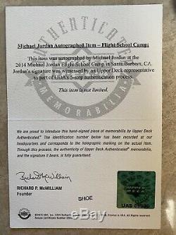 Michael Jordan Uda Autograph Auto Jordan Retro 1 Chaussures Taille 10! À Voir