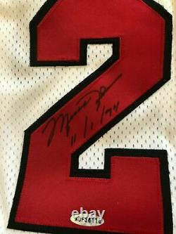 Michael Jordan Uda High Deck Signé Autographe 11/1/94 Retraite Jersey 25/111