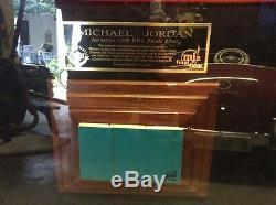 Michael Jordan Uda Maillot Dédicacé Pont Supérieur Authentique Plancher Finale 81/230