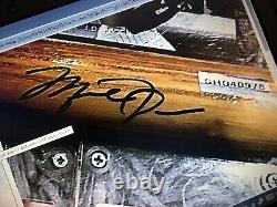 Michael Jordan Uda Signé Batte De Baseball 1/1 Hologramme Auto Autographe Bonus Gu Card